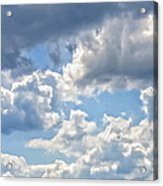 Just Clouds Acrylic Print