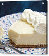 Just One Bite Of Key Lime Pie Acrylic Print