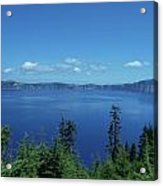 Just One Part Of Crater Lake Acrylic Print