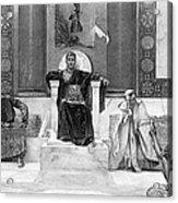 Justinian I (483-565) Acrylic Print