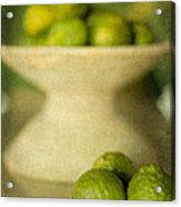 Kaffir Limes Acrylic Print