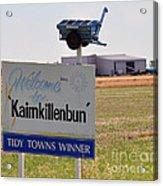 Kaimkillenbun Sign Acrylic Print by Joanne Kocwin