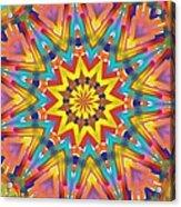 Kaleidoscope Series Number 7 Acrylic Print