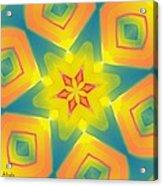 Kaleidoscope Series Number 8 Acrylic Print