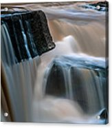 Kang Sopa Waterfall Acrylic Print by Arthit Somsakul