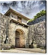 Kankaimon Gate  Acrylic Print by Karen Walzer