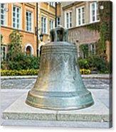 Kanonia Square In Warsaw Acrylic Print