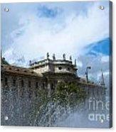 Karlsplatz Fountain Acrylic Print