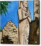 Karnak Temple Egypt Acrylic Print by Irina Sztukowski