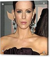 Kate Beckinsale At Arrivals For 14th Acrylic Print