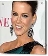Kate Beckinsale At Arrivals For Moca Acrylic Print by Everett
