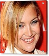 Kate Hudson At Arrivals For Times 100 Acrylic Print by Everett
