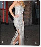 Kate Hudson Wearing Lanvin Gown Acrylic Print