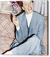 Katharine Hepburn In England, Ca. 1952 Acrylic Print