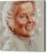 Katherine Hepburn Acrylic Print