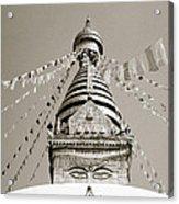 Kathmandu Acrylic Print