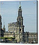 Katholische Hofkirche - Dresden Acrylic Print