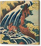 Katsushika Hokusai Horse Washing Acrylic Print