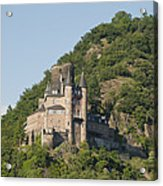 Katz Castle On A Hillside Acrylic Print