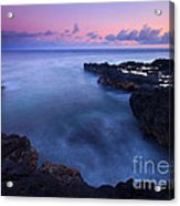 Kauai  Pastel Tides Acrylic Print