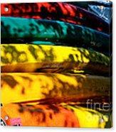 Kayak Colors Acrylic Print