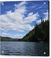 Kayaking A Jewel Acrylic Print