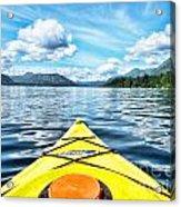 Kayaking In Bc Acrylic Print