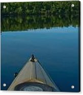 Kayaking Range Ponds 0003 Acrylic Print