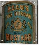 Keen's Mustard Acrylic Print