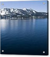 Keep Tahoe Blue 2 Acrylic Print