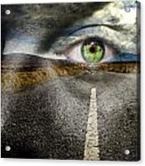 Keep Your Eyes On The Road Acrylic Print