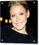 Kelly Ripa At Talk Show Appearance Acrylic Print
