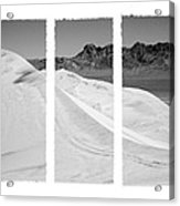 Kelso Dunes Triptych Acrylic Print