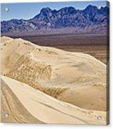 Kelso Sand Dunes 2 Acrylic Print