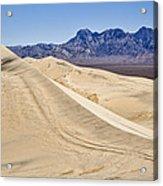 Kelso Sand Dunes Acrylic Print