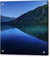 Kenai Lake Blues Acrylic Print