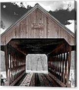 Keniston Bridge Acrylic Print