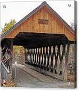 Keniston Covered Bridge Acrylic Print
