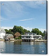 Kennebunkport Maine Acrylic Print