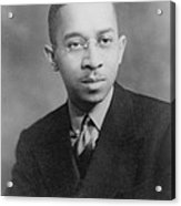 Kenneth B. Clark 1914-2005, African Acrylic Print by Everett