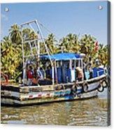 Kerala Queen Acrylic Print
