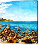 Kettle Cove Acrylic Print