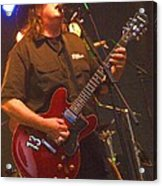 Kevin Kinney Lead Singer And Guitarist For Drivin N Cryin Acrylic Print