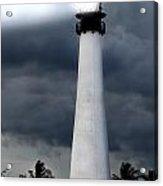 Key Biscayne Lighthouse Acrylic Print by Rudy Umans