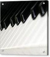 Keyboard Acrylic Print