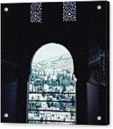 Keyhole View Acrylic Print