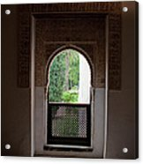 Keyhole Window Acrylic Print