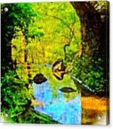 Keystone Bridge Acrylic Print