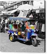 Khaosan Road Tuk Tuk Acrylic Print