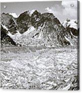 Khumbu Glacier Acrylic Print